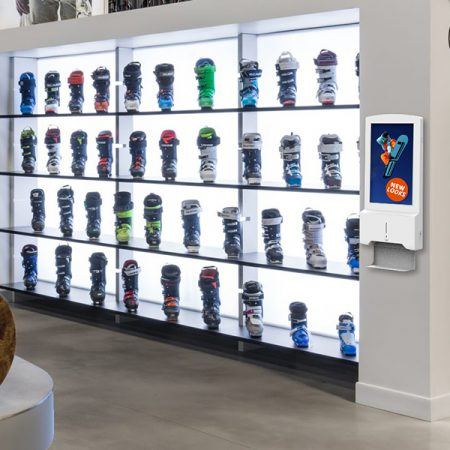 Hand Sanitiser Android Advertising Display - Retail (2)